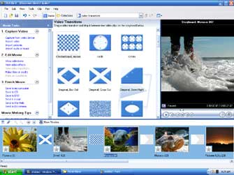 Interfaccia Movie Maker 2.1