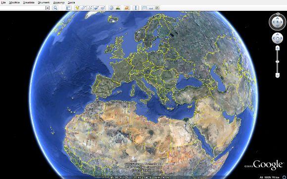 google earth vecchia versione