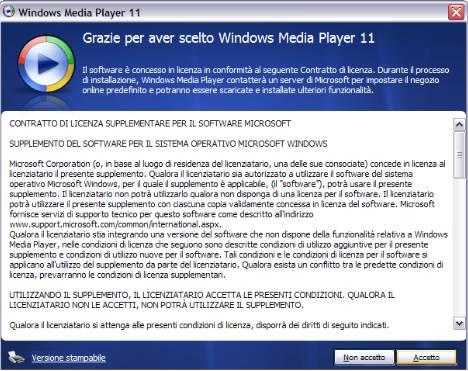 windows media player 11 convalidaregratis
