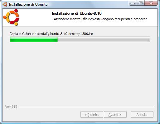 ubuntu 8.10 wubi