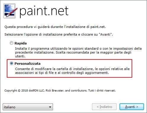 Come creare uno sfondo trasparente con paint